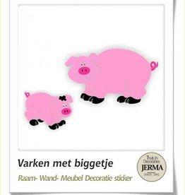boerderij dieren babykamer circus decoratie stickers