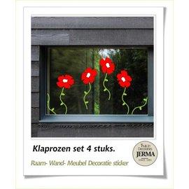JERMA Klaproos, decoraties.