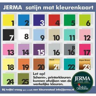JERMA Baby met krulhaar, decoratie sticker met naam, datum geboorte sticker raamplakker geboorte