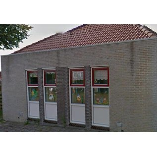 JERMA Raamdecoratie wanddecoratie sticker Paddestoel huisje kinderkamer idee klasraamstickers.