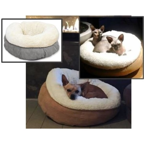 Lambswool Donut Bed