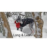 Chilly Dogs GREAT WHITE NORTH WINTER COAT - Greyhound / Long & Lean breeds