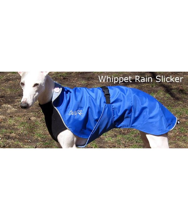 Chilly Dogs Rain Slicker REGENJAS - Windhonden / Long & Lean rassen