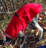 Chilly Dogs Chilly Sweater Fleece Coat - Windhonden / Long & Lean rassen