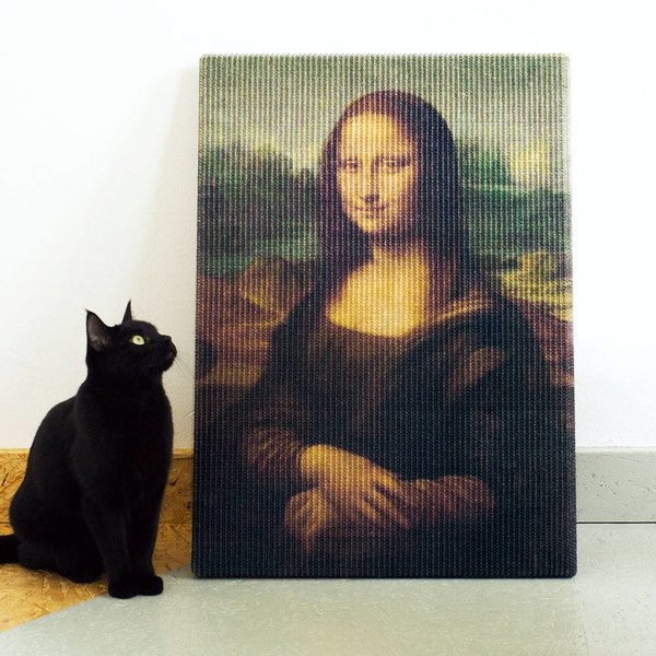 Copycat Art Scratcher - Mona Lisa