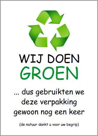 Wij doen groen