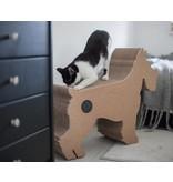 Dog Scratchpost Terrier