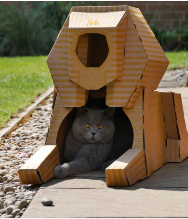 Poopy Cat Sfinx Landmark Playhouse