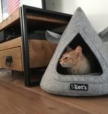 Let's Sleep Pet Cave TeePee