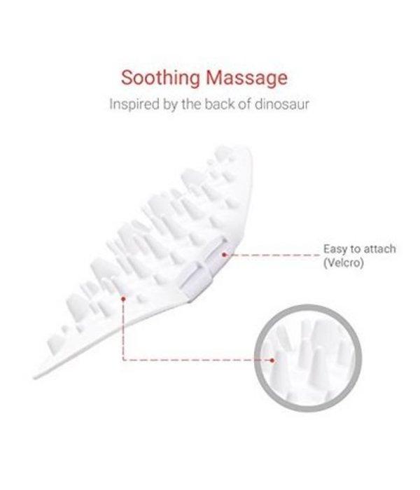 Pidan Silicone Massage borstel voor uw kat (Self-grooming)