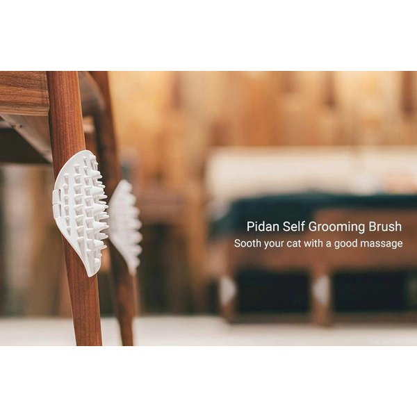 Self-grooming brush
