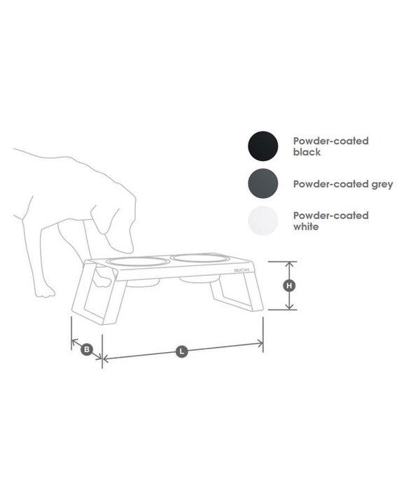 MiaCara Desco Dog Feeder (3 sizes)