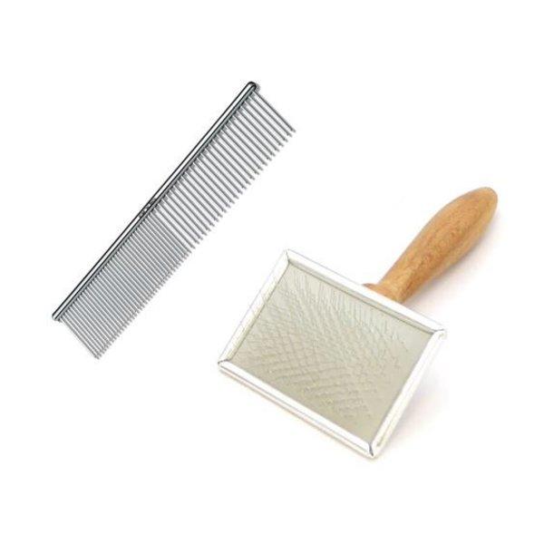 Slicker brush en Kam voor katten