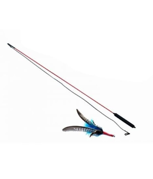 Purrs Interactive Cat Toy - Rod with bird