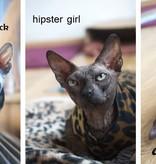 Cat Shirt Stretch Fleece - Katten kleding DeLuxe
