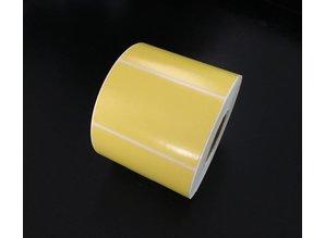Zebra etiket geel /78x48/K40/1 rol 850 etiketten