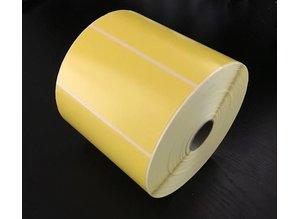 Zebra etiket 87000 geel /102x51/K25/1 rol 1.370