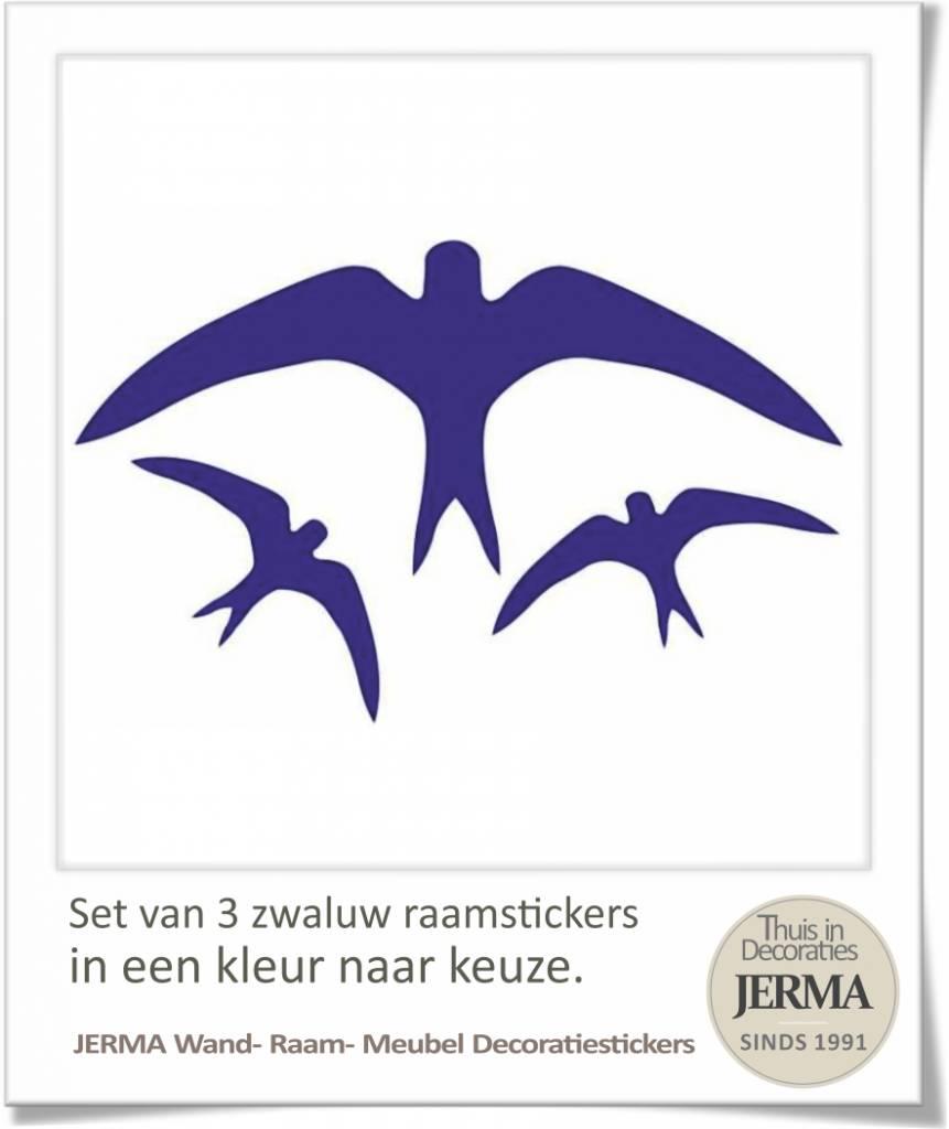 Vogel Raamstickers Set Van 6 Vogels Plak Ze Op De Raam Of