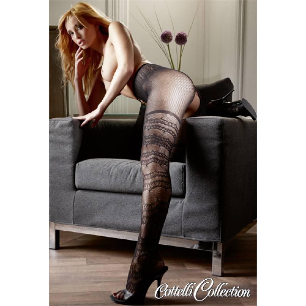 Порно в ажурных колготках фото