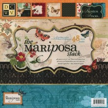 DCWV Mariposa 12x12 Inch Paper Stack