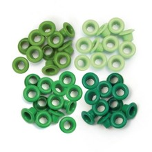 We R Memory Keepers Green Eyelets