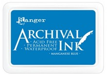 Ranger Archival Ink Manganese Blue (AIP30454)