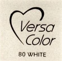 Tsukineko VersaColor 1 Inch Cube Ink Pad White (VS-80)