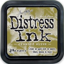 Ranger Distress Ink Crushed Olive