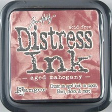 Ranger Distress Ink Aged Mahogany