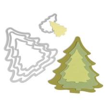 Sizzix Framelits Trees Christmas (657944)
