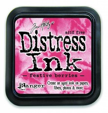 Ranger Distress Ink Pad Festive Berries (TIM32861)