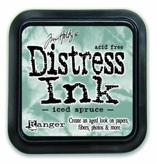Ranger Distress Ink Pad Iced Spruce (TIM32878)