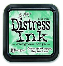 Ranger Distress Ink Pad Evergreen Bough (TIM32854)