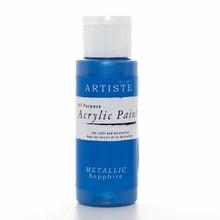Artiste Acrylic Paint Metallic Sapphire (DOA763110)