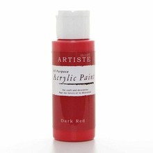 Artiste Acrylic Paint Dark Red (DOA76312)