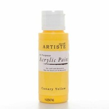 Artiste Acrylic Paint Canary Yellow (DOA76302)