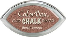 ClearSnap ColorBox Cat's Eye Fluid Chalk Ink Pad Burnt Sienna (71418)