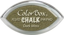 ClearSnap ColorBox Cat's Eye Fluid Chalk Ink Pad Dark Moss (71401)