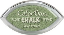 ClearSnap ColorBox Cat's Eye Fluid Chalk Ink Pad Olive Pastel (71412)