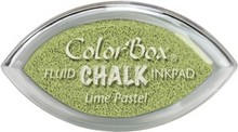 ClearSnap ColorBox Cat's Eye Fluid Chalk Ink Pad Lime Pastel (71426)