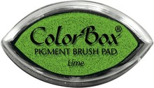 ClearSnap ColorBox Cat's Eye Pigment Brush Pad Lime (11042)