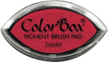ClearSnap ColorBox Cat's Eye Pigment Brush Pad Scarlet (11014)