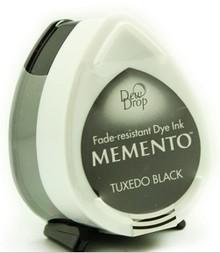 Tsukineko Memento Tuxedo Black Dye Ink Dew Drop (MD-900)