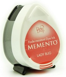 Tsukineko Memento Lady Bug Dye Ink Dew Drop (MD-300)