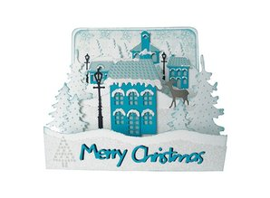 Marianne Design Collectable Christmas Village Hoog (COL1326)