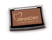 Tsukineko VersaColor Brown Ultimate Pigment Ink Pad (VCI 54)