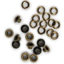We R Memory Keepers Brass Eyelets & Washers (42217-4)