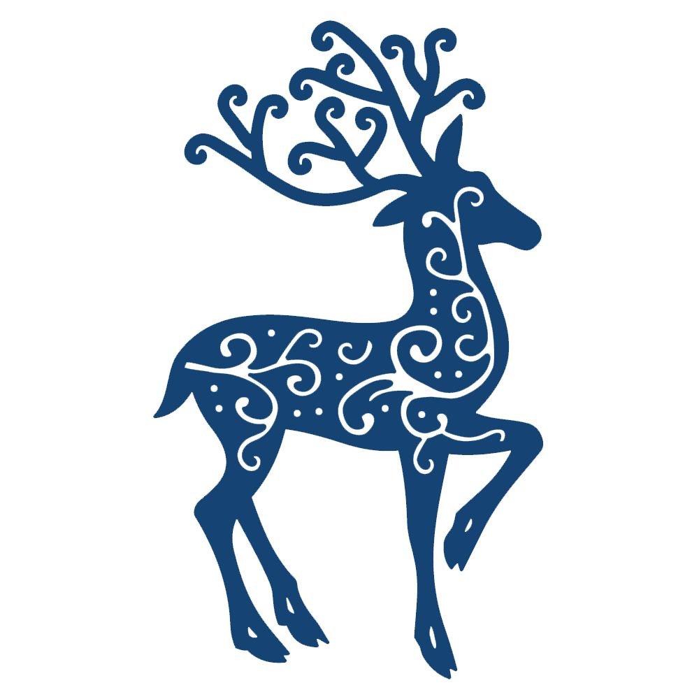 Tattered Lace Reindeer (ACD116) - Paperpads.nl