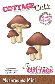 Scrapping Cottage Mushrooms Mini (CC-MINI-147)