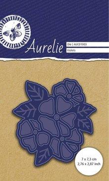 Aurelie Botanical Garden Violets Die (AUCD1003)